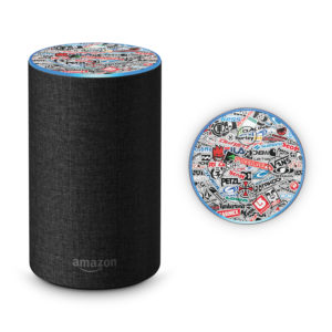 Extreme Sports StickerBomb Amazon Echo 2017 Skin