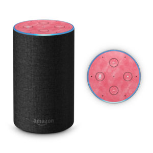 Rose Watercolour Amazon Echo 2017 Skin