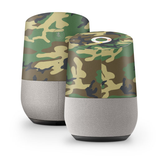 Woodland Camo Google Home Skin