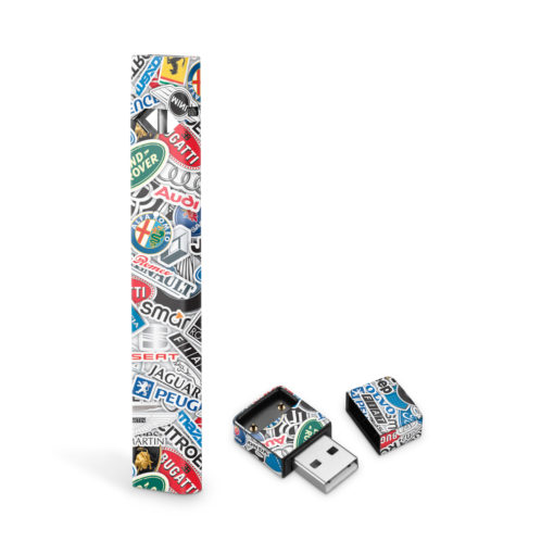 Car Company StickerBomb JUUL Skin