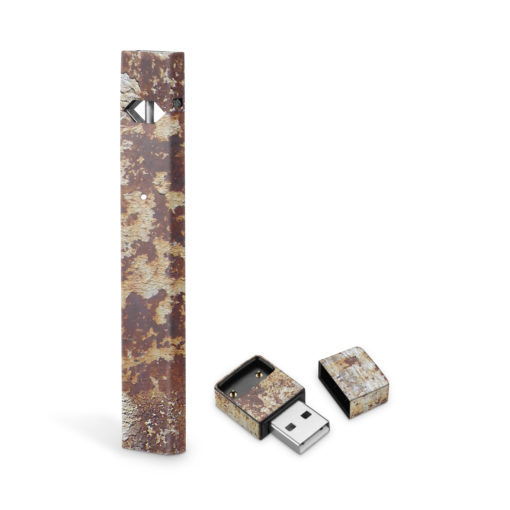 Rusted Metal JUUL Skin