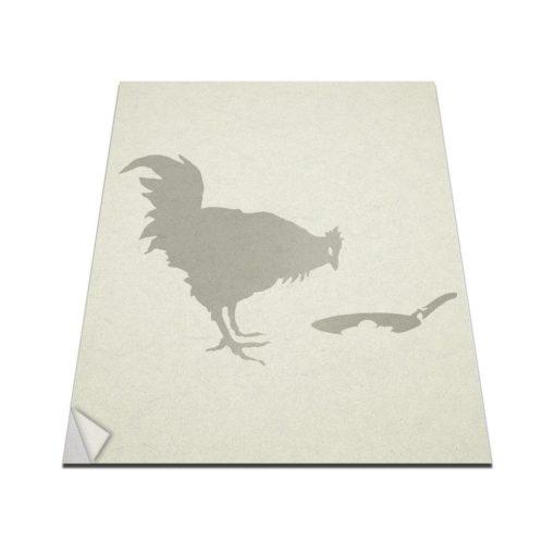 banksy chicken & egg wall art