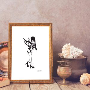 Banksy Amy Winehouse Giclee Print