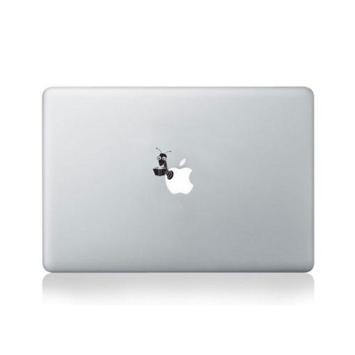 Book Worm  Macbook Decal