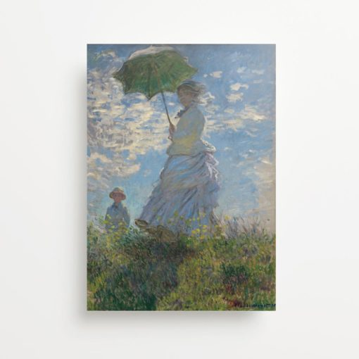 """Claude Monet """"Woman With A Parasol"""" (1875) Giclee Print"""