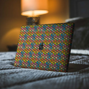 Colourful Triangles Macbook Skin
