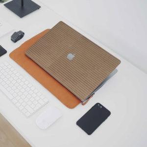 Corrugated Cardboard Macbook Skin