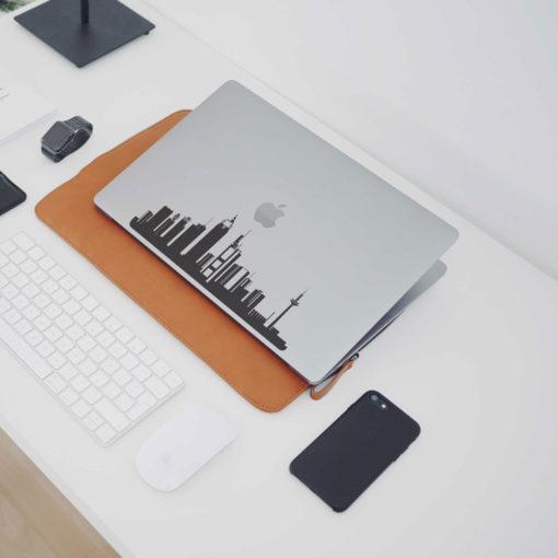 Frankfurt City Skyline Macbook Decal