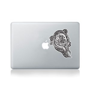 david thornton vinyl revolution macbook stickers