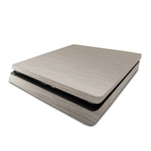 Grey Walnut Wood PS4 Slim Skin