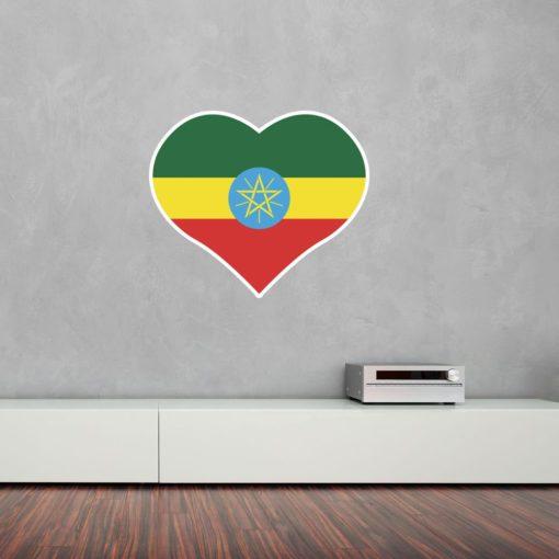 I Love Ethiopia Wall Art