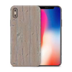 Pine Wood iPhone X Skin