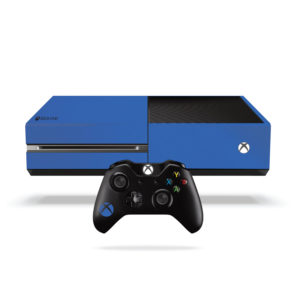 Matte Blue Xbox One Vinyl Wrap