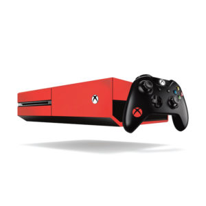 Matte Red Xbox One Vinyl Wrap
