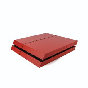 Matte Red PS4 Vinyl Wrap