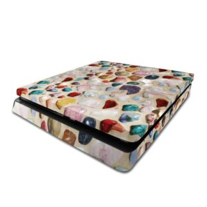 Multicoloured Pebbles PS4 Slim Skin