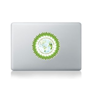 Native American Proverb: Inherit the Earth Macbook StickerNative American Proverb: Inherit the Earth Macbook Sticker