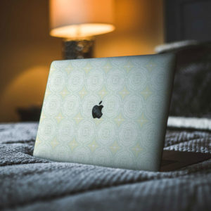 Pastel Tiles Macbook Skin