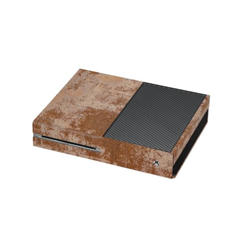 Rusted Metal Xbox One Skin