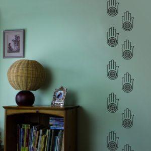 spiritual hand vinyl wall art decal