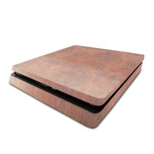 Tan Leather PS4 Slim Skin