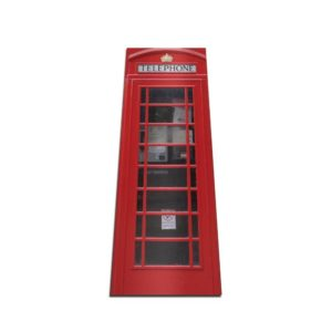 telephone Box doorwrap door sticker