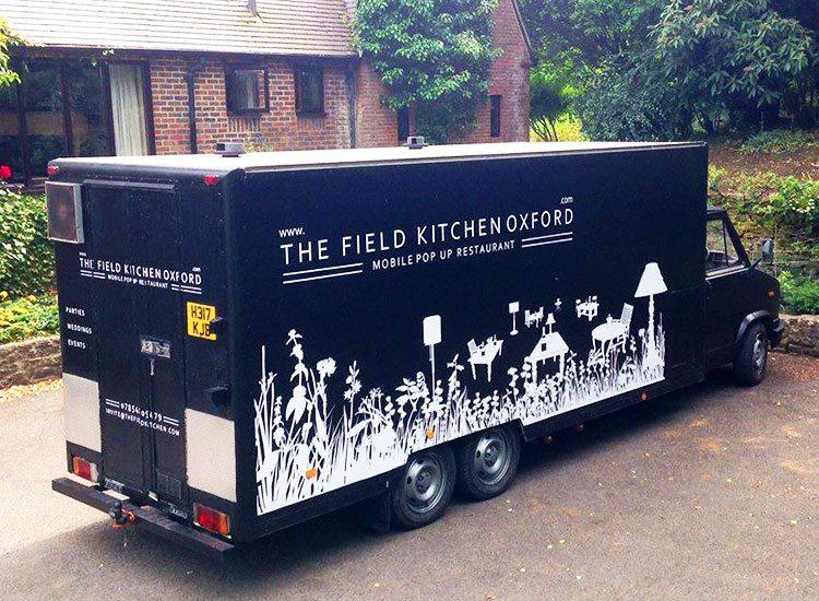 Custom trailer wrapping oxford