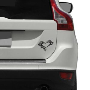 Tribal Heart  Car Decal