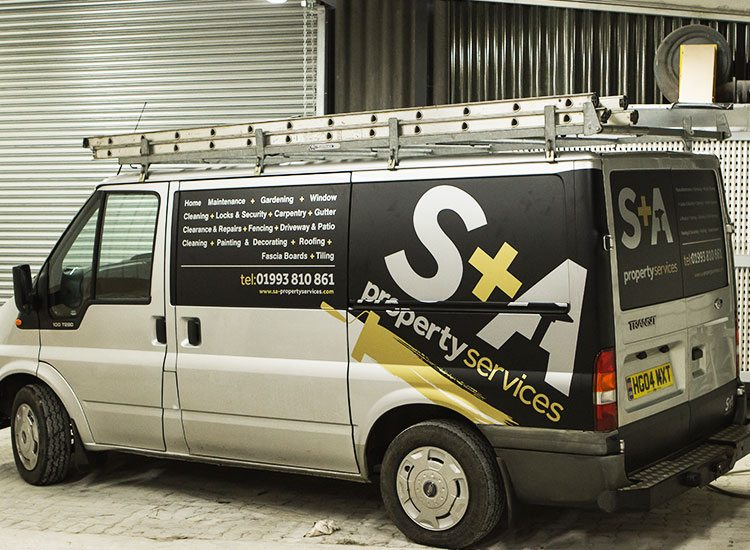 Van wrapping services