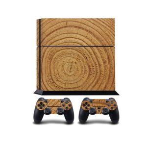 Wood Rings PS4 Vinyl Wrap